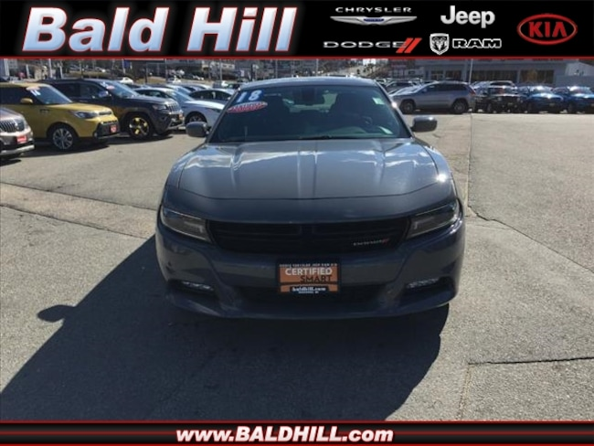 Used 2018 Dodge Charger SXT Plus Sedan 8-Speed Shiftable Automatic 2C3CDXHG1JH133234 in Warwick