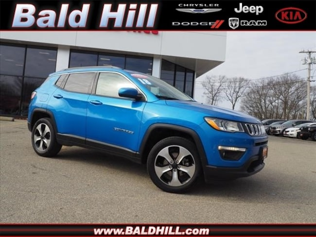Certified Used 2018 Jeep Compass Latitude 4x4 SUV Automatic 3C4NJDBB2JT116510 in Warwick