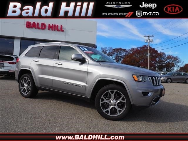 2018 Jeep Grand Cherokee Limited 4x4 SUV 8-Speed Shiftable Automatic 1C4RJFBGXJC347031