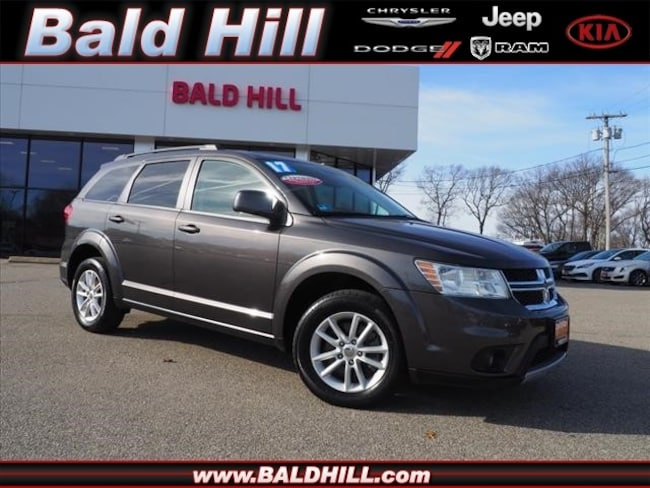 Certified Used 2017 Dodge Journey SXT SUV Shiftable Automatic 3C4PDDBG2HT540629 in Warwick