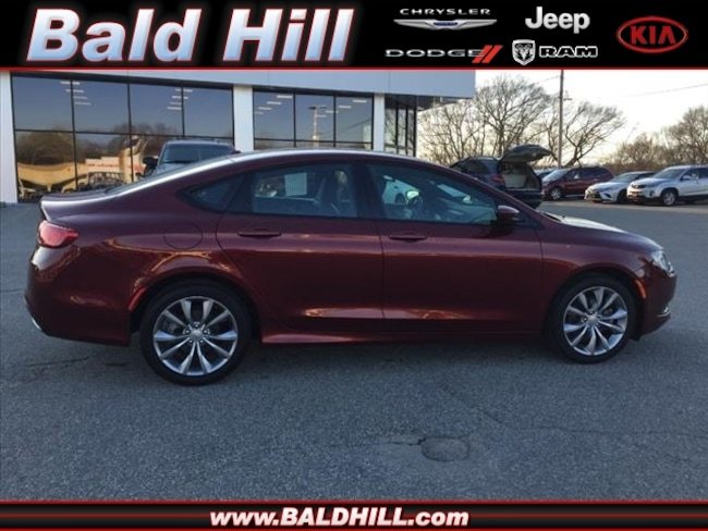 Certified Used 2016 Chrysler 200 S Sedan 9-Speed Shiftable Automatic 1C3CCCBB2GN128519 in Warwick