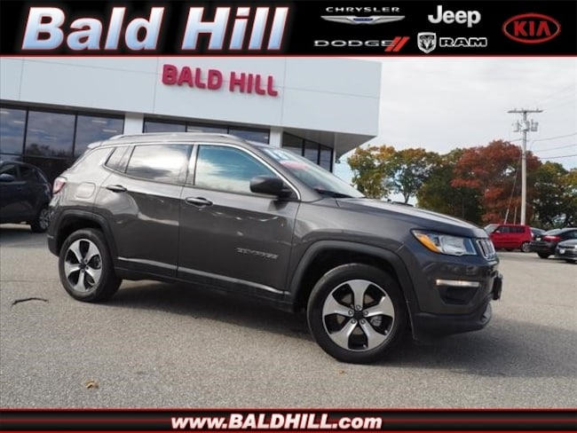 Certified Used 2018 Jeep Compass Latitude 4x4 SUV Automatic 3C4NJDBB9JT334685 in Warwick