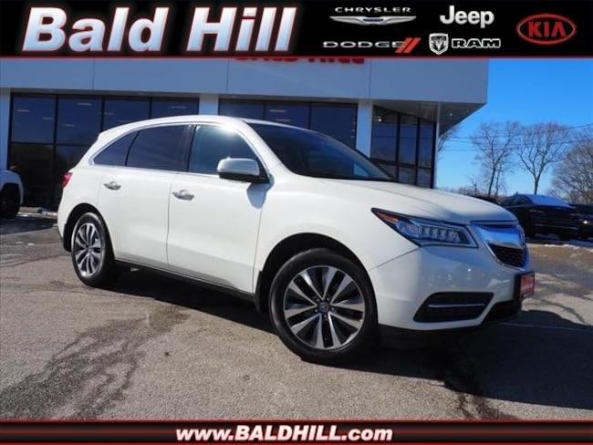 Used 2016 Acura MDX MDX SH-AWD with Technology Package SUV Automatic 5FRYD4H46GB017403 in Warwick