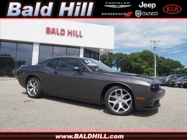 Certified Used 2016 Dodge Challenger R/T Coupe Automatic 2C3CDZBT0GH279506 in Warwick