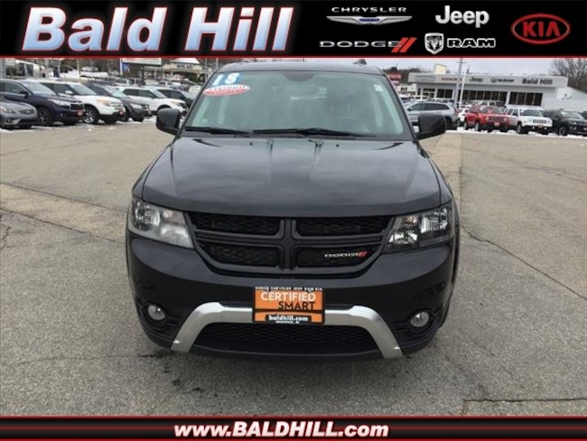 Certified Used 2018 Dodge Journey Crossroad SUV Shiftable Automatic 3C4PDDGG5JT364450 in Warwick