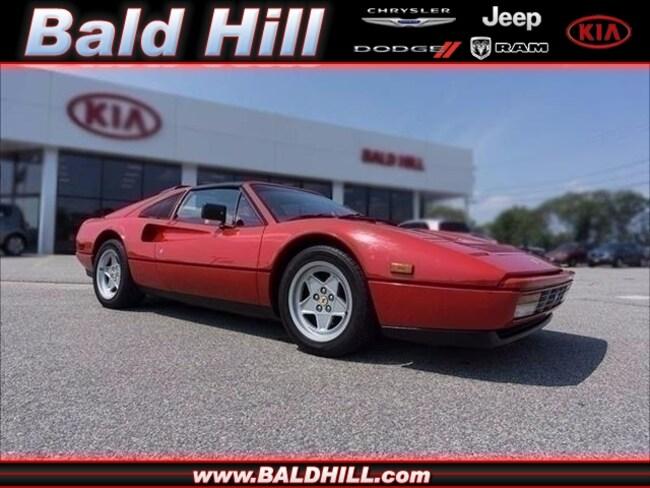 Used 1988 Ferrari 328 GTS Convertible 6-Speed Manual ZFFXA20A1J0076586 in Warwick