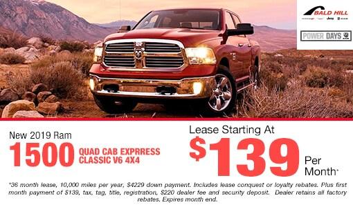New Vehicle Specials in Warwick, RI