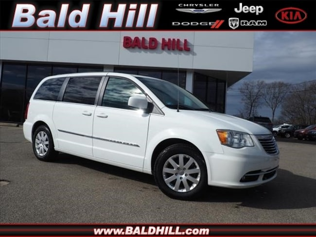 Certified Used 2014 Chrysler Town & Country Touring Van Shiftable Automatic 2C4RC1BGXER191776 in Warwick