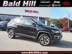 2018 Jeep Compass Limited 4x4 SUV 9-Speed Shiftable Automatic 3C4NJDCB0JT333939