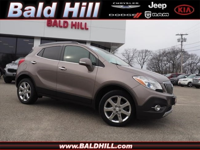 Used 2014 Buick Encore Leather SUV Shiftable Automatic KL4CJGSB5EB741137 in Warwick