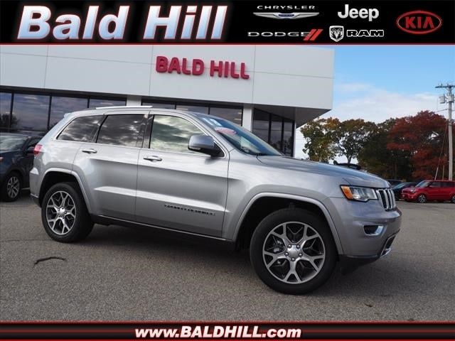 2018 Jeep Grand Cherokee Limited 4x4 SUV 8-Speed Shiftable Automatic 1C4RJFBG9JC324971
