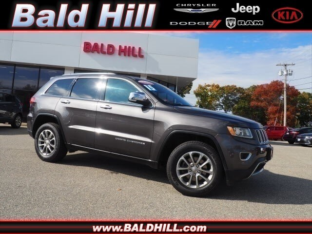 2015 Jeep Grand Cherokee Limited 4x4 SUV 8-Speed Shiftable Automatic 1C4RJFBG0FC878438