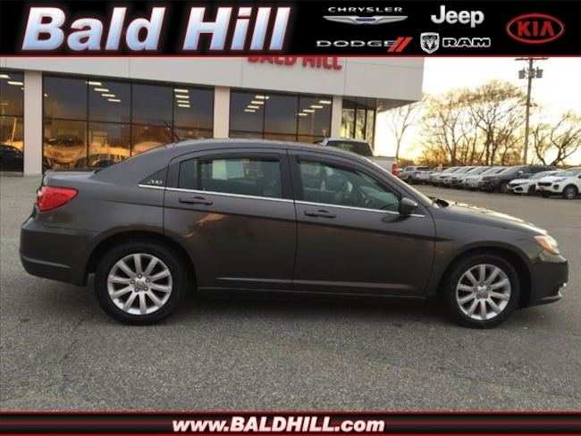 Certified Used 2014 Chrysler 200 Touring Sedan Automatic 1C3CCBBB3EN190941 in Warwick