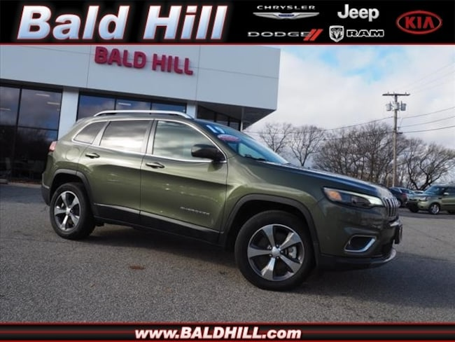 Certified Used 2019 Jeep Cherokee Limited 4x4 SUV Automatic 1C4PJMDN6KD179794 in Warwick