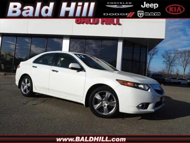 Used 2012 Acura TSX TSX 5-Speed Automatic Sedan Shiftable Automatic JH4CU2F42CC010084 in Warwick