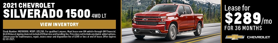 2021 Chevrolet Silverado 1500 4WD LT January