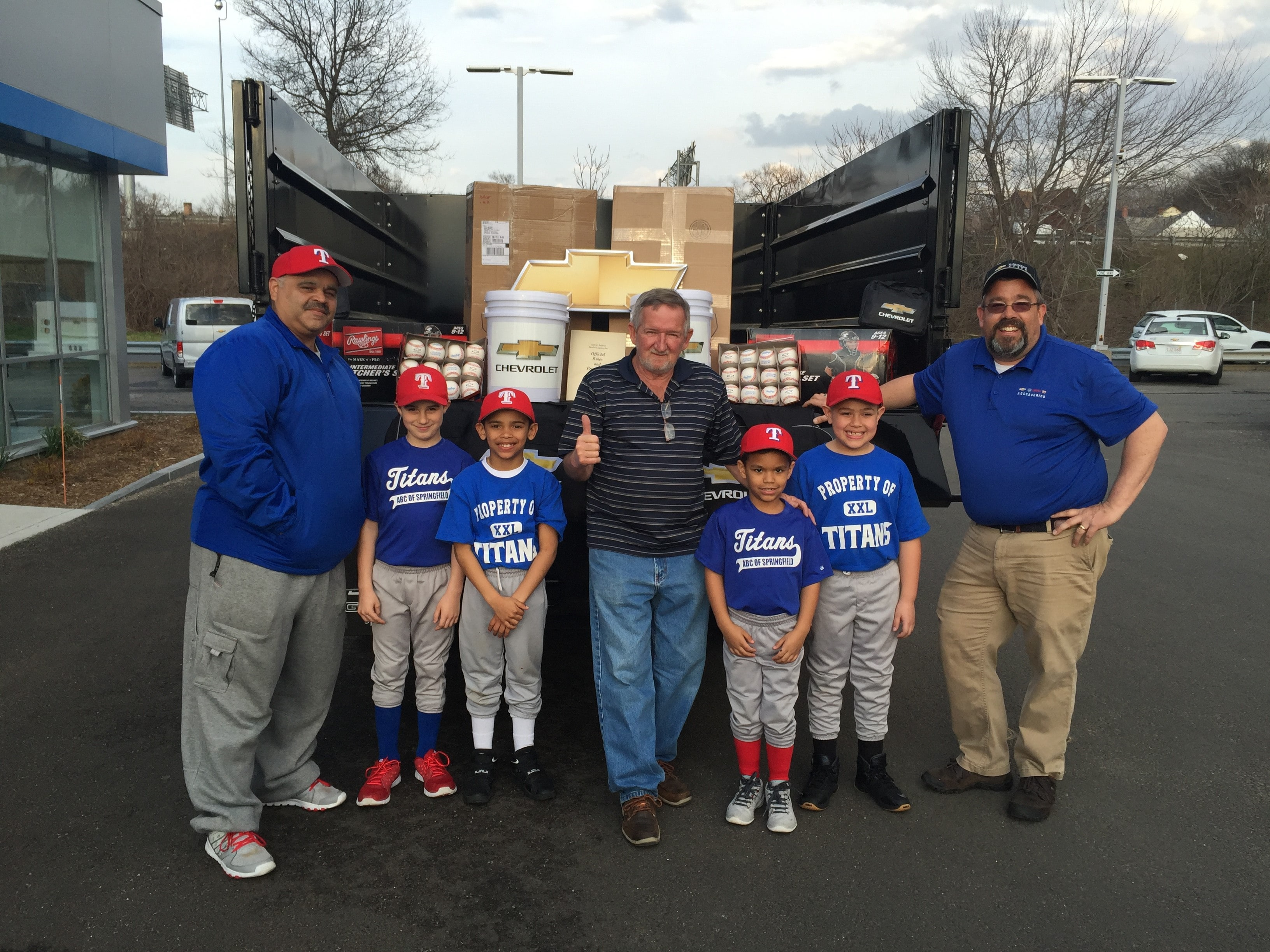 This Spring, The Team At Balise Chevrolet In Springfield, MA Is Back At It  Participating In The Nationwide Chevy Youth Baseball Programu2014forging A ...