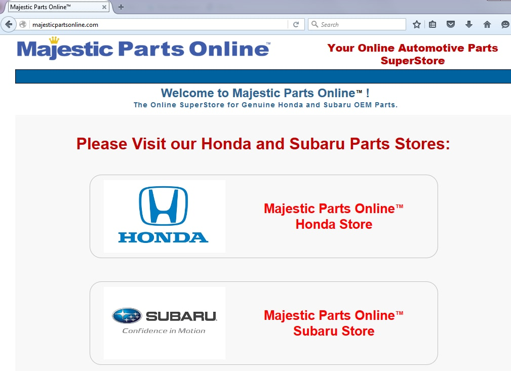 Balise Parts Team Launches Majesticpartsonline Com