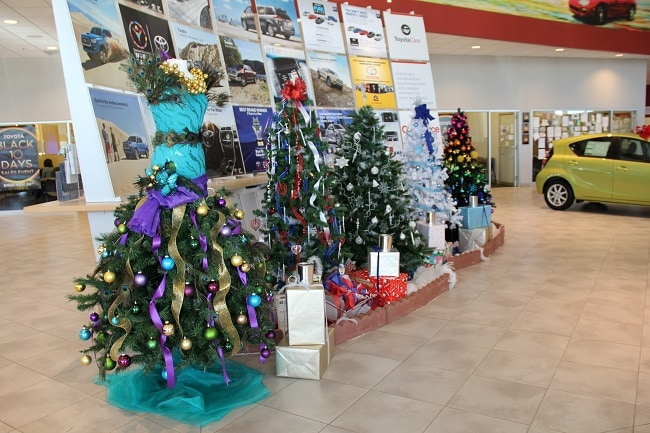 It Seems Like Just Yesterday That Twenty Beautifully Christmas Trees Were  Going Up In The Balise Toyota Showroomu2026now, All The Trees Have Been Raffled  Off To ...
