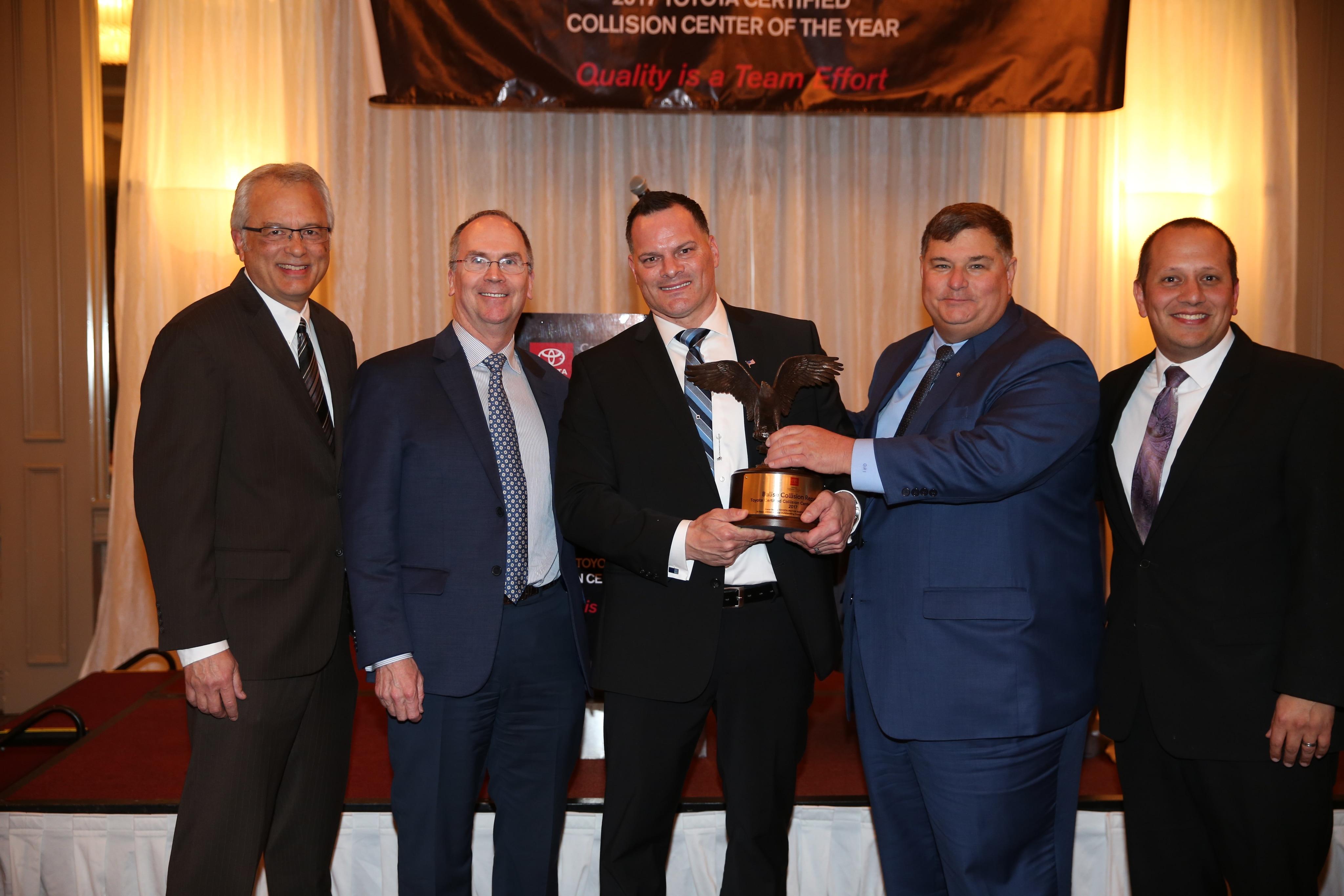 Balise Collision Repair In Rhode Island, USA Was Named The 2017 Toyota  Certified Collision U201cShop Of The Yearu201d Triple Crown Winner.