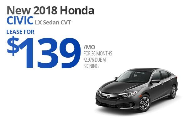 View New 2018 Honda Civic Inventory