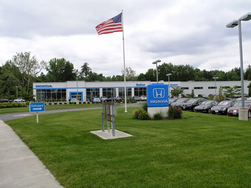 Balise Honda dealership in West Springfield near Manchester CT
