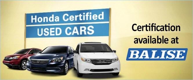 Honda Certified Inventory