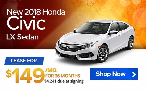 New Car Specials Lease Deals West Springfield Ma Balise Honda