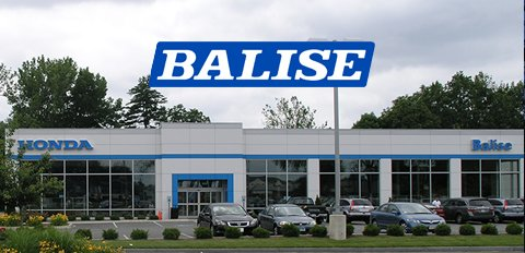 Balise Honda Dealership
