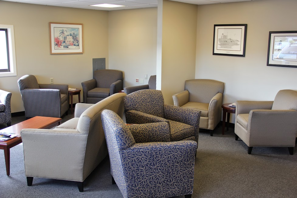comfortable service waiting area at Balise Hyundai of Cape Cod