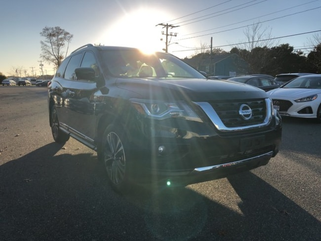 New 2019 Nissan Pathfinder Platinum SUV for sale Cape Cod MA