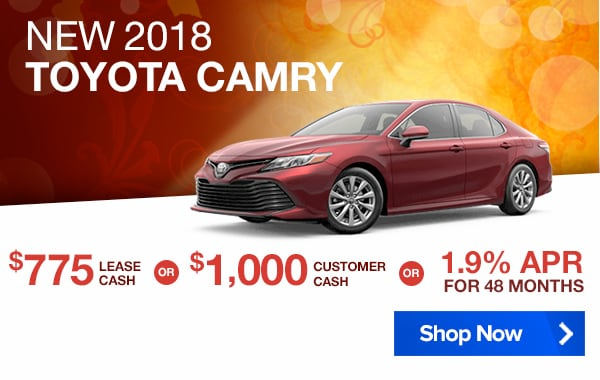 View 2018 Toyota Camry Inventory