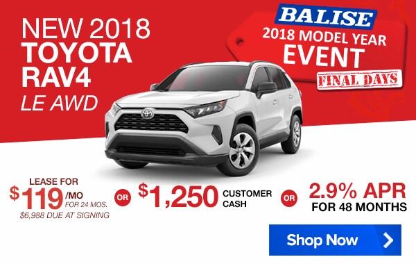 New Toyota Specials Lease Deals Warwick Rhode Island