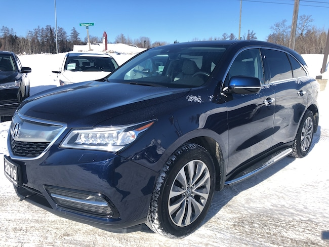 2016 Acura MDX NAV LEATHER AWD Navigation Package SUV