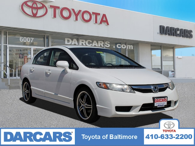Used 2010 Honda Civic Sdn LX Sedan Baltimore, MD