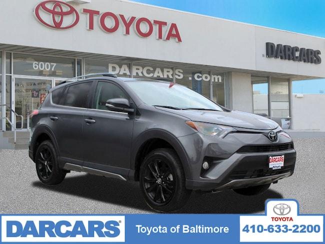 Used 2018 Toyota RAV4 Adventure SUV Baltimore, MD