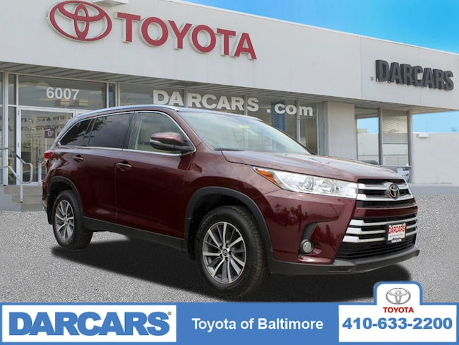 Certified 2019 Toyota Highlander SE SUV Baltimore, MD