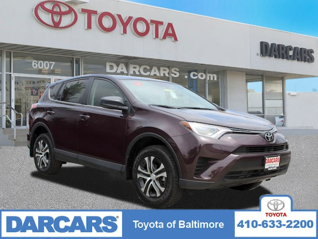 Certified 2018 Toyota RAV4 LE SUV Baltimore, MD