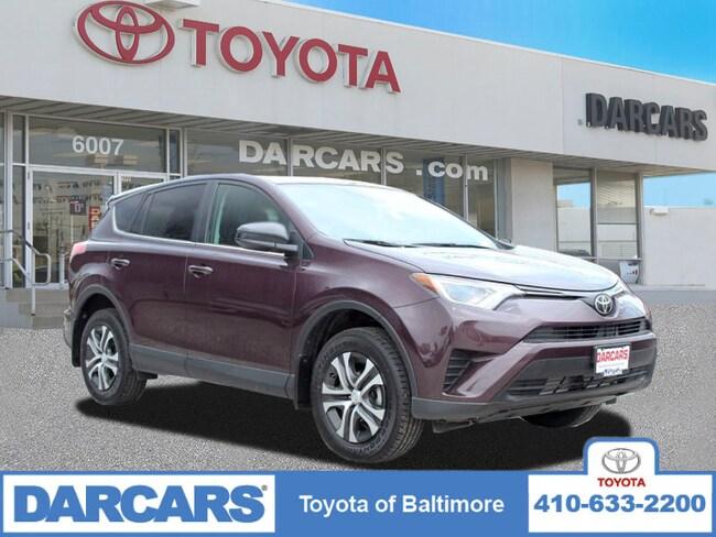 Used 2018 Toyota RAV4 LE SUV Baltimore, MD