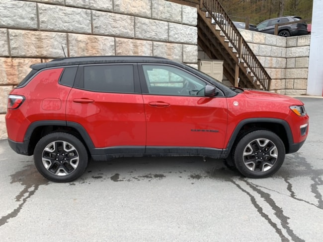 Used 2018 Jeep Compass Trailhawk 4x4 SUV for sale in Honesdale at B & B Chrysler Dodge Jeep Ram