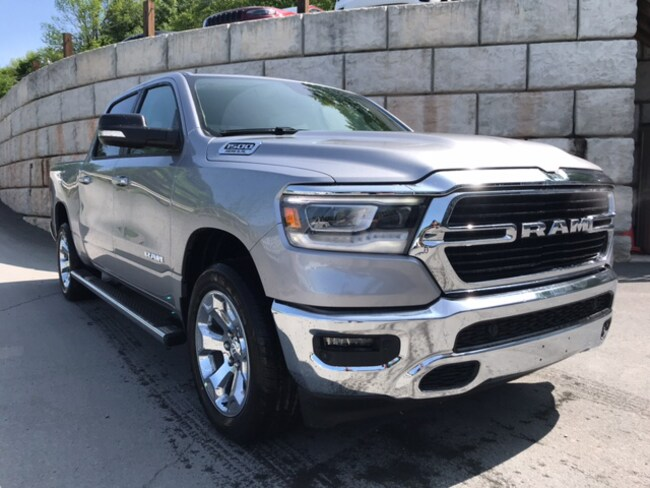 New 2019 Ram 1500 BIG HORN / LONE STAR CREW CAB 4X4 5'7 BOX Crew Cab for sale in Honesdale at B & B Chrysler Dodge Jeep Ram