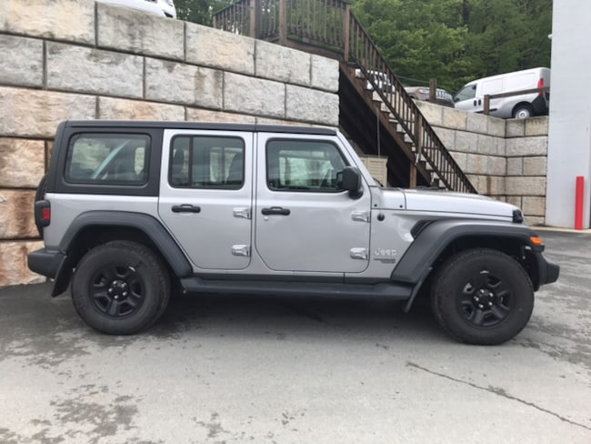 Used 2018 Jeep Wrangler Unlimited Sport 4x4 SUV for sale in Honesdale at B & B Chrysler Dodge Jeep Ram