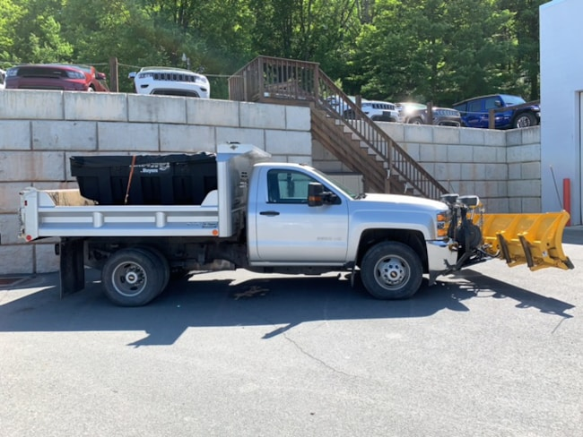 Used 2015 Chevrolet Silverado 3500HD Dump WT Truck for sale in Honesdale at B & B Chrysler Dodge Jeep Ram
