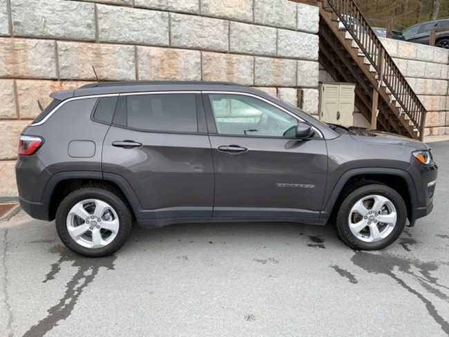 Used 2018 Jeep Compass Latitude 4x4 SUV for sale in Honesdale at B & B Chrysler Dodge Jeep Ram