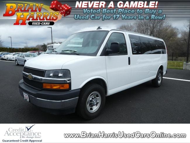2017 Chevrolet Express 3500 LT Van Extended Passenger Van