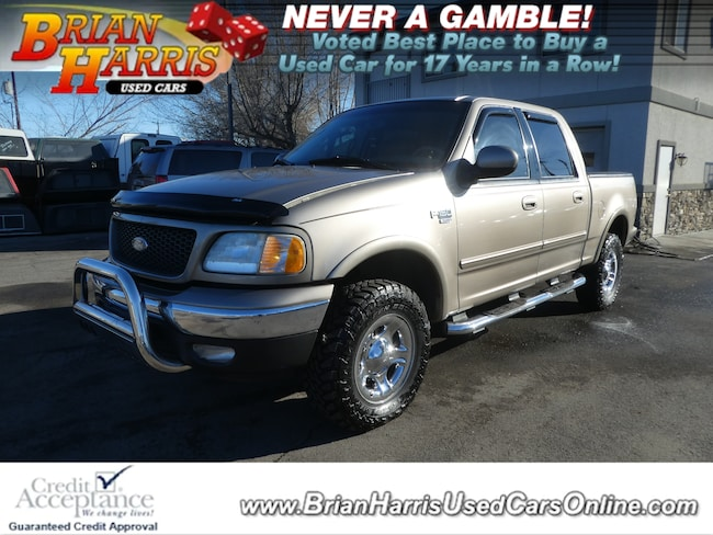 2003 Ford F-150 SuperCrew Lariat Truck SuperCrew Cab