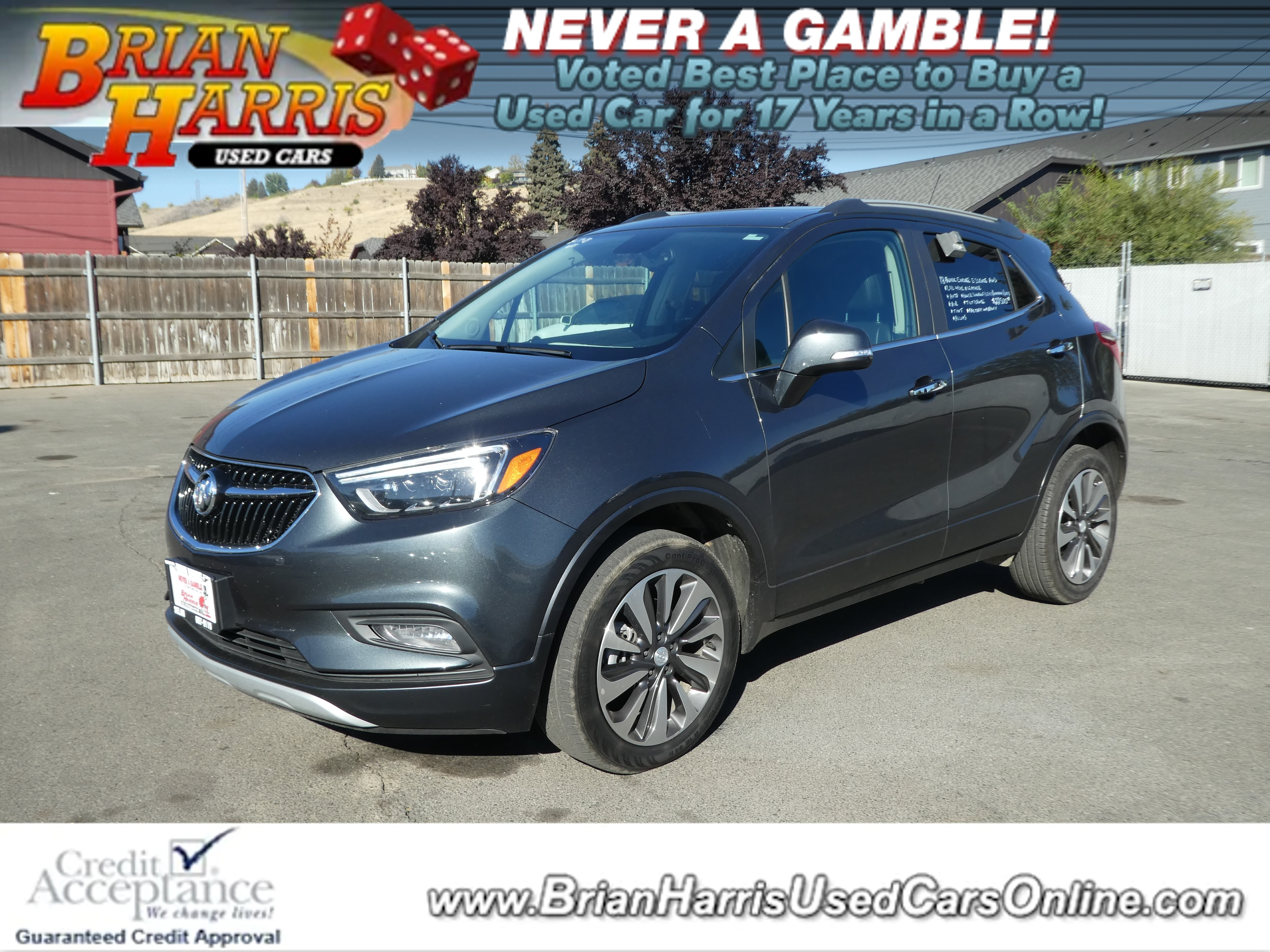 Brian Harris Used Cars >> Used 2018 Buick Encore For Sale At Brian Harris Used Cars Vin