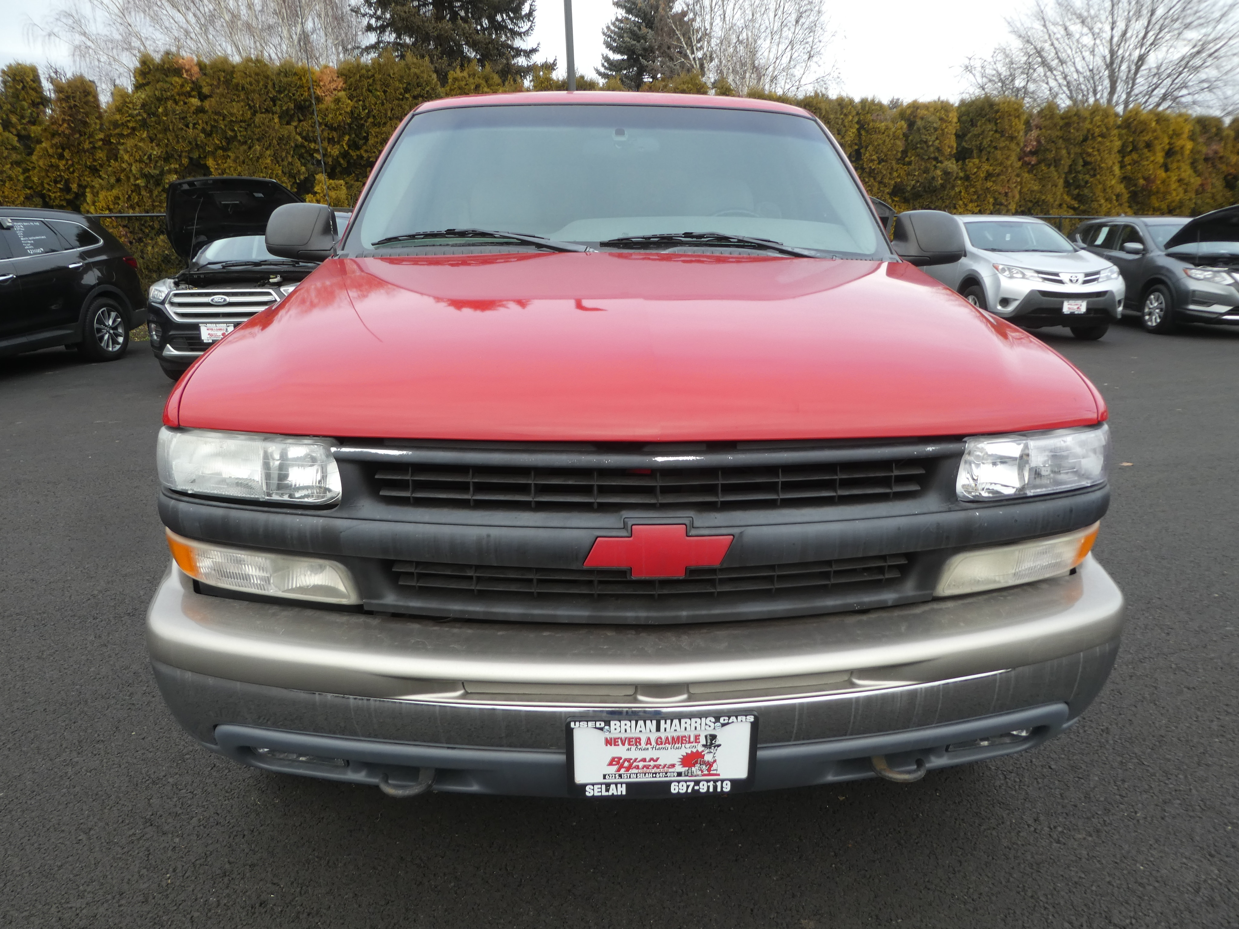 Brian Harris Chevrolet >> Used 2000 Chevrolet Tahoe For Sale At Brian Harris Used Cars Vin