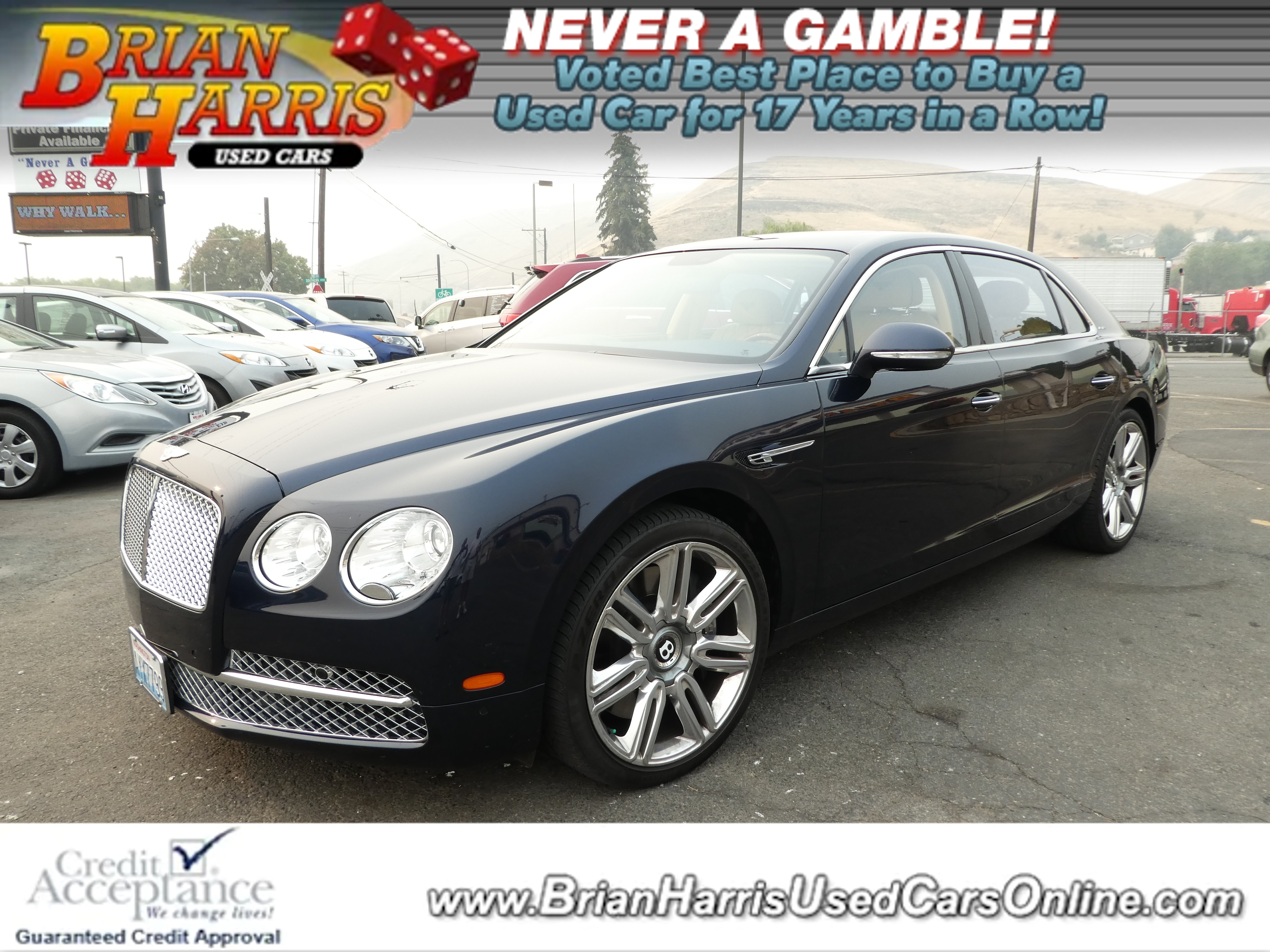 Used 2016 Bentley Flying Spur For Sale at Brian Harris Used