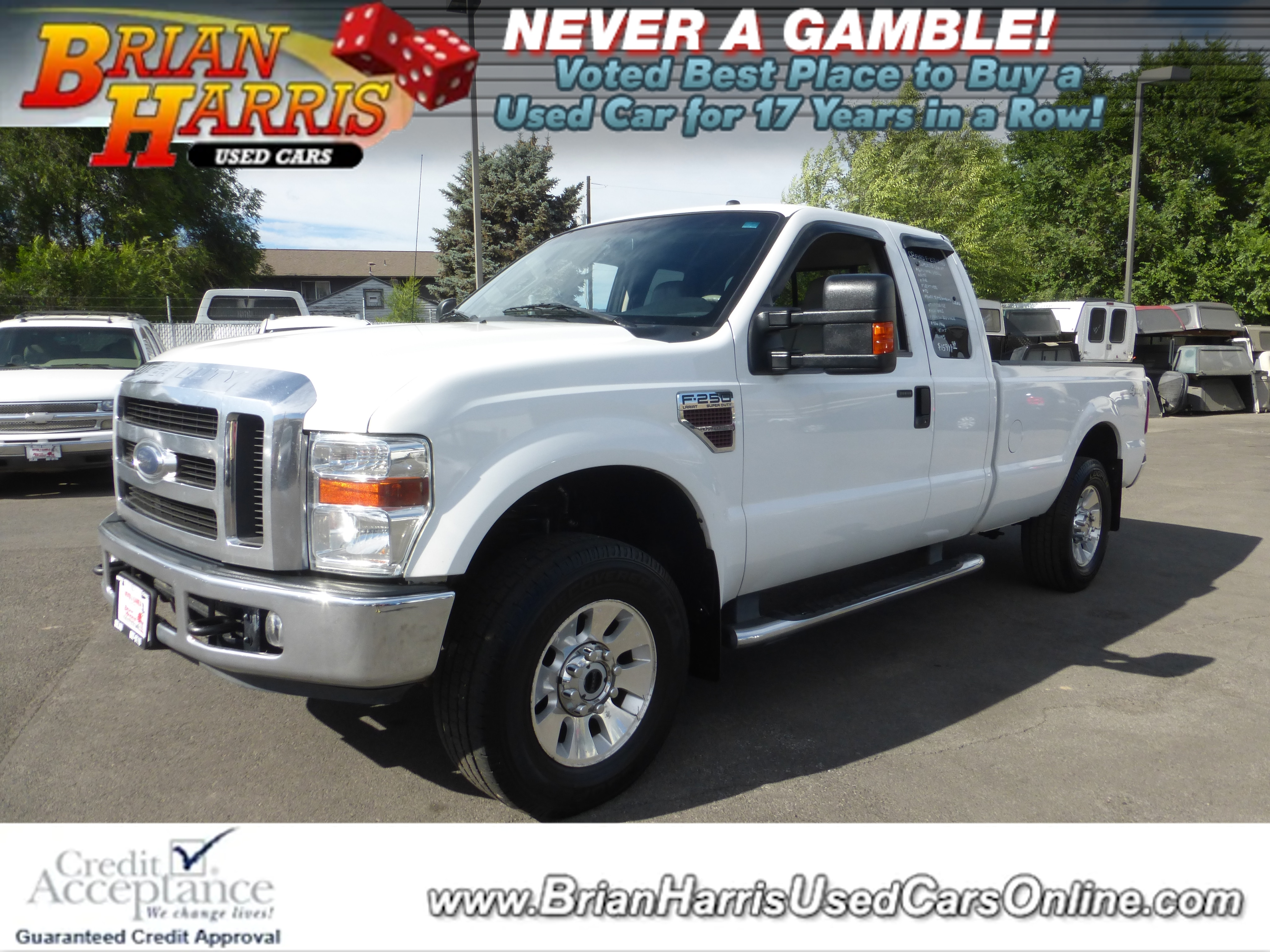 Used 2008 Ford F-250 For Sale at Brian Harris Used Cars